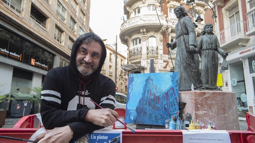 'Un pintor en la calle' por el Día del Artista