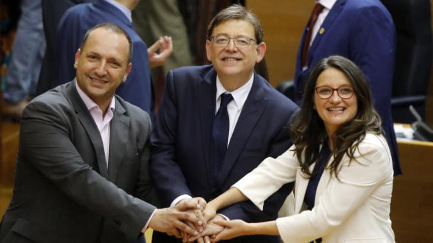 Ximo Puig, investido presidente de la Generalitat Valenciana