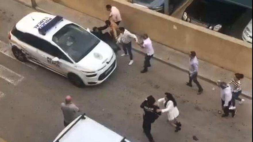 La Guardia Civil identificó a los dos agresores de Cala Rajada tras el altercado