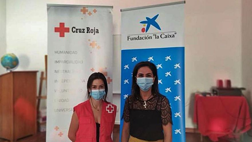 La Obra Social 'la Caixa'  y Cruz Roja ayudan a las personas vulnerables