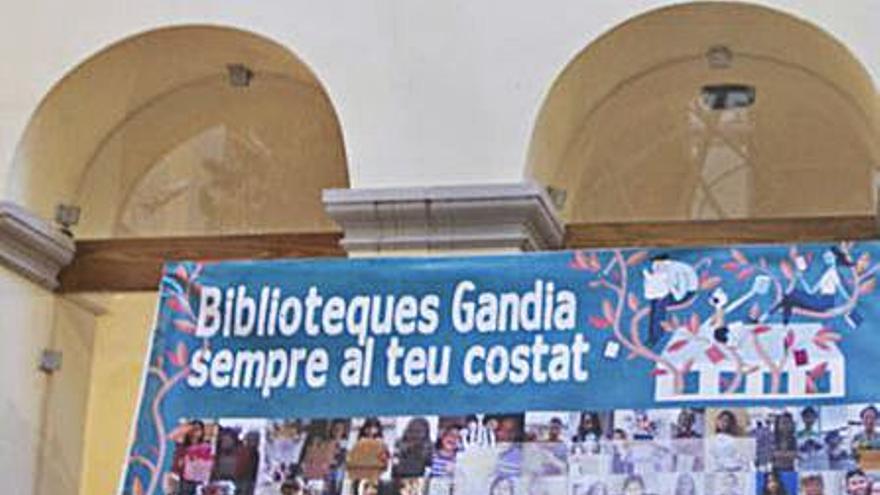 Las bibliotecas de Gandia recuperan su frenético ritmo