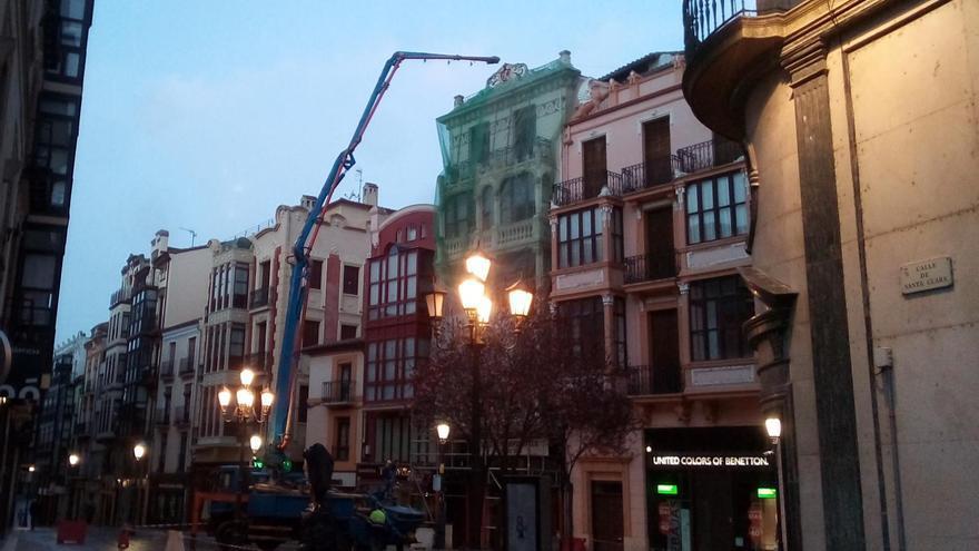 La Policía Municipal de Zamora corta este jueves Sagasta al tráfico por obras