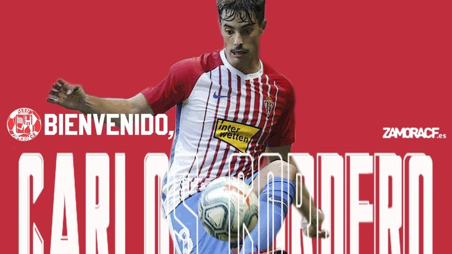 El Zamora CF ficha al defensa Carlos Cordero
