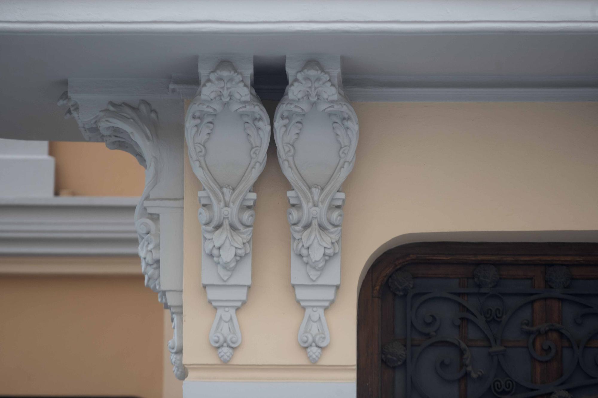 Así vuelve a la vida el Palacete de Burgos (Casa del Médico) de la Avenida del Puerto