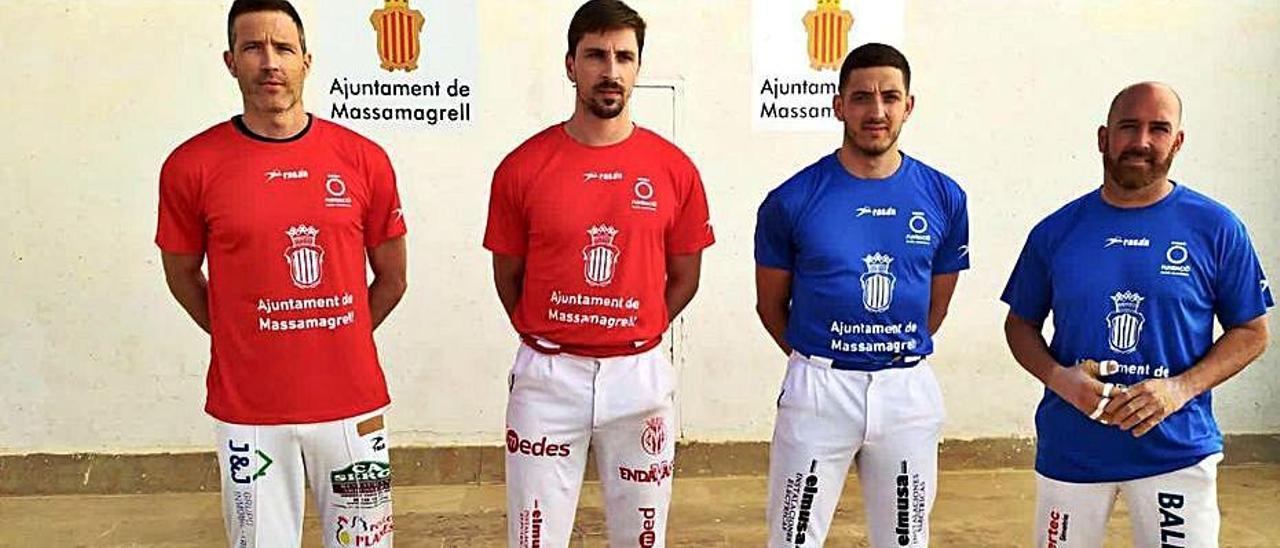 Salva, Puchol II, Salvador y Félix, a la primera semifinal. | A.M.