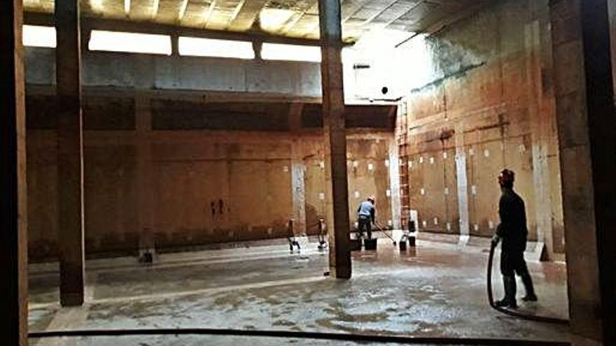 Acciona desinfecta y limpia los depósitos de agua de Santa Catalina