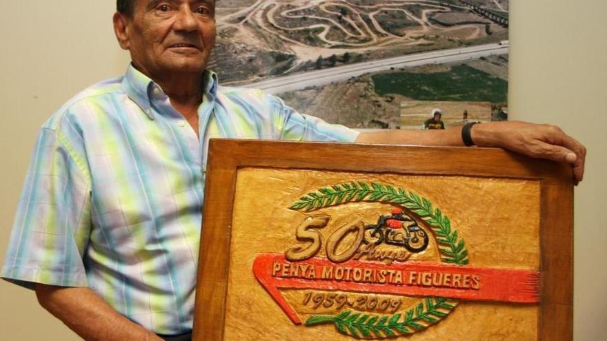 Mor el figuerenc Eduard Clavaguera, un dels mites del món del motor
