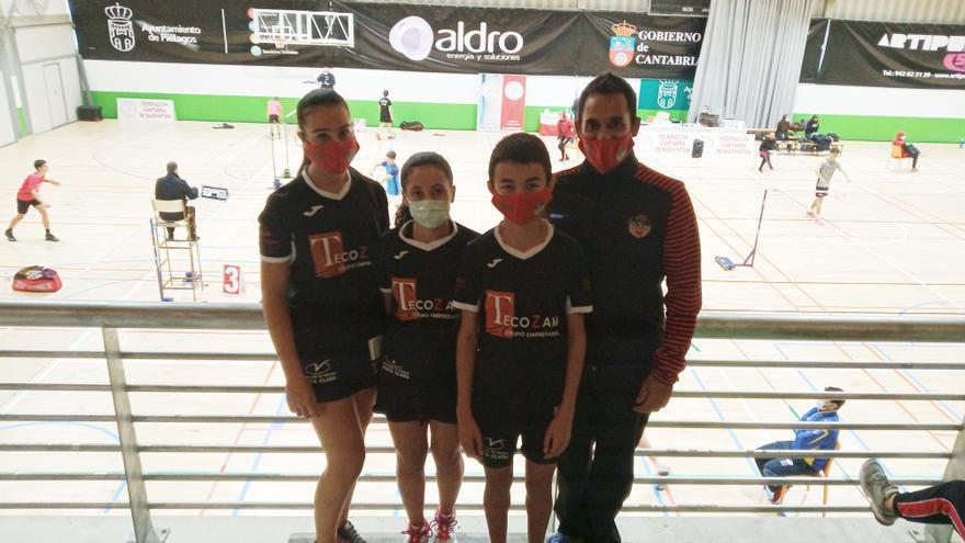 Buenas sensaciones en el regreso a la competición del Bádminton Zamora