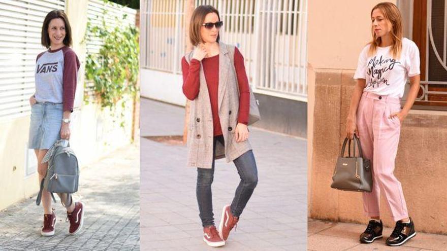 Looks con zapatillas o sneakers para lucir en Castellón, por @Inatrendytown