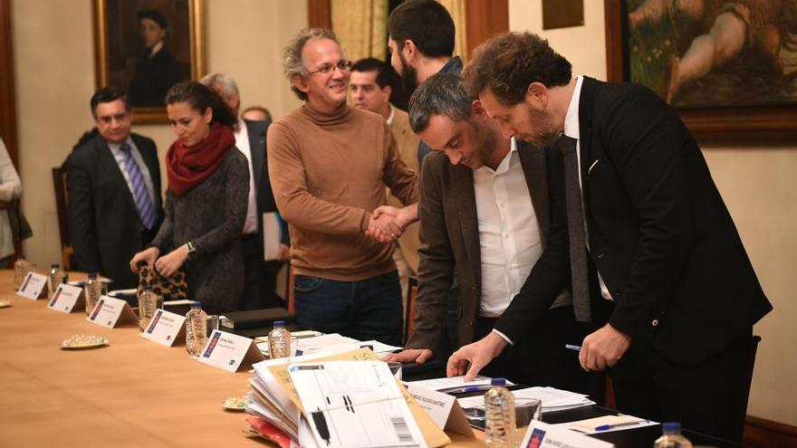 Jurado del concurso de ideas para la fachada litoral de A Coruña