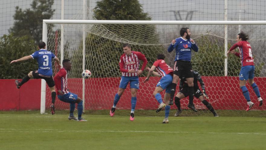 Así fue la jornada de Segunda División B para los equipos asturianos