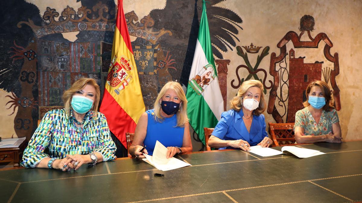 El Ayuntamiento de Marbella firma un nuevo convenio con la Fundación Bastiano Bergese que incrementa la cuantía