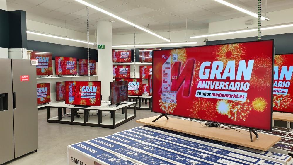 La nova botiga MediaMarkt a Castell-Platja d'Aro