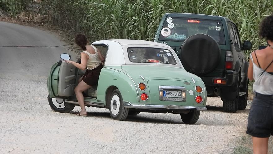 El coche de Ayuso en Ibiza, una rareza japonesa