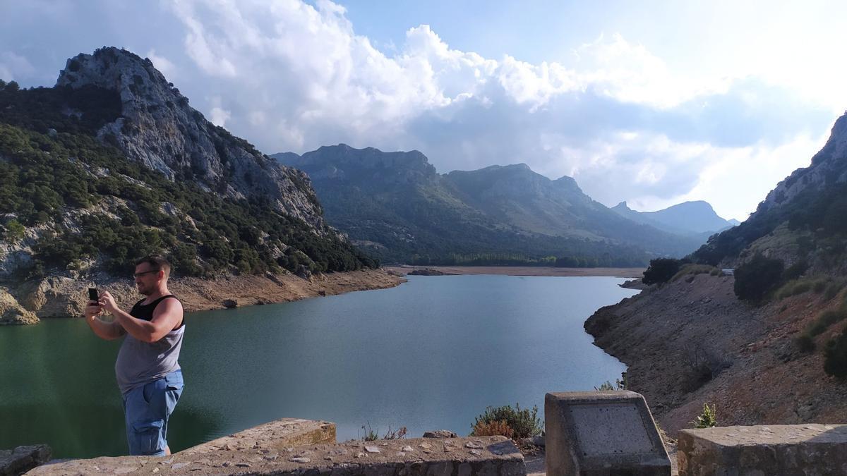 Así está el Gorg Blau: las reservas de agua están bajo mínimos con poco más del 20%