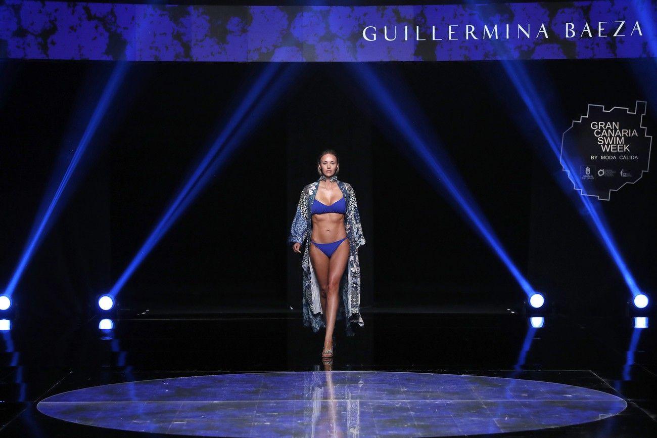 Desfile de Guillermina Baeza en la Gran Canaria Swim Week 2021 (2ª jornada)
