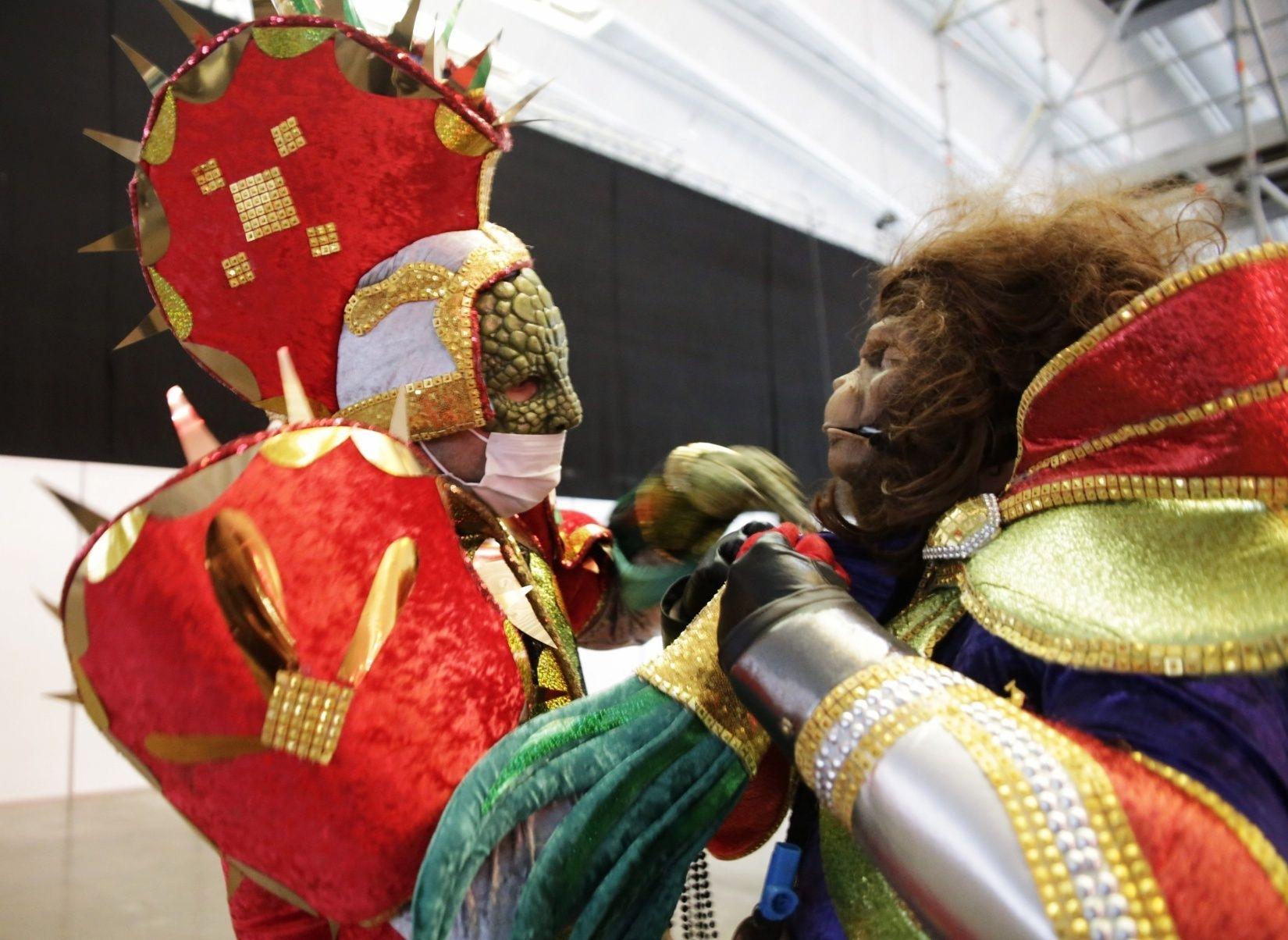 Grabación de las murgas para el Carnaval Virtual