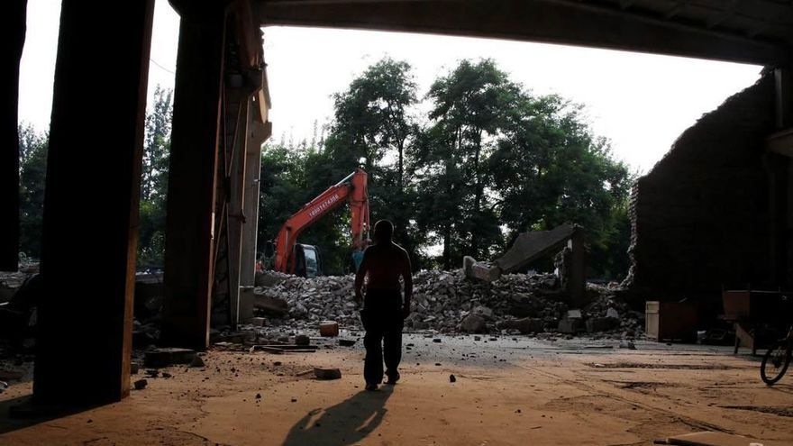China contra el taller de Weiwei