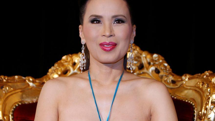 La princesa tailandesa Ubolratana Mahidol.