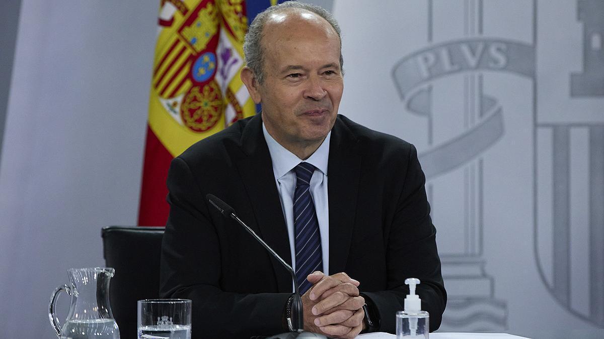 El exministro de Justicia, Juan Carlos Campo.