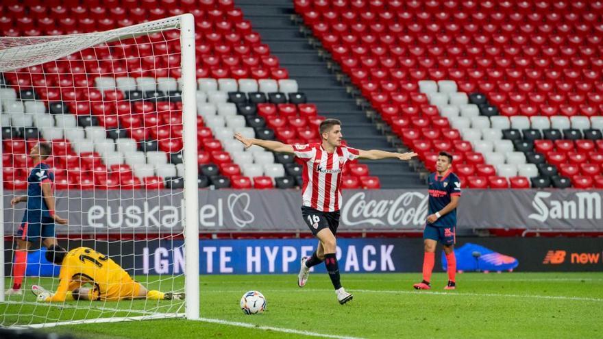 L'Athletic ressorgeix amb una remuntada contra el Sevilla en deu minuts