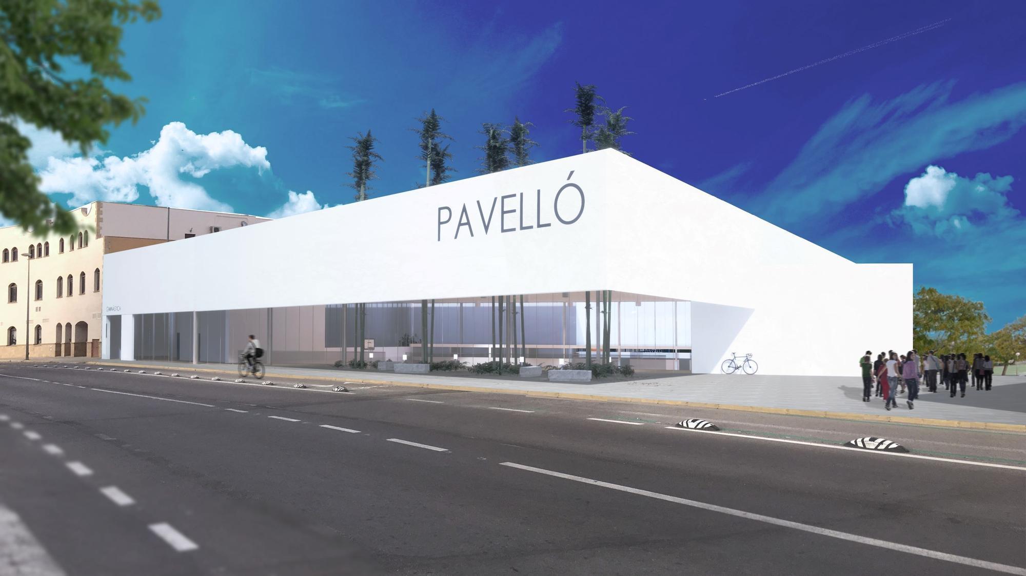 Así será el nuevo polideportivo de la Vall d'Uixó