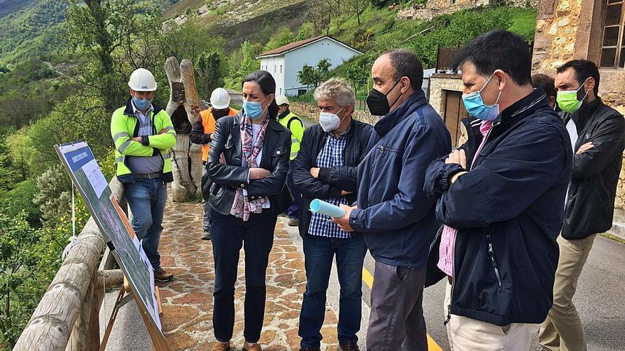 Comienzan las obras de saneamiento de Robledo, en Somiedo