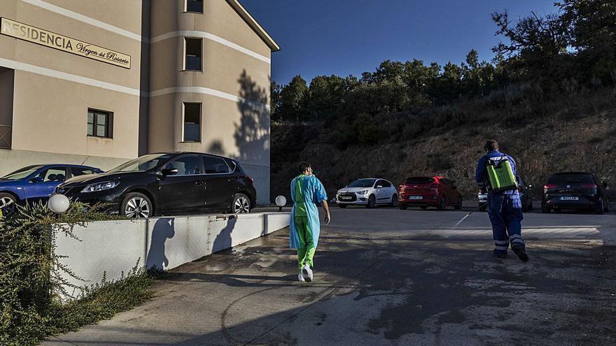 El brote de coronavirus en la residencia de El Puente se cobra dos fallecimientos