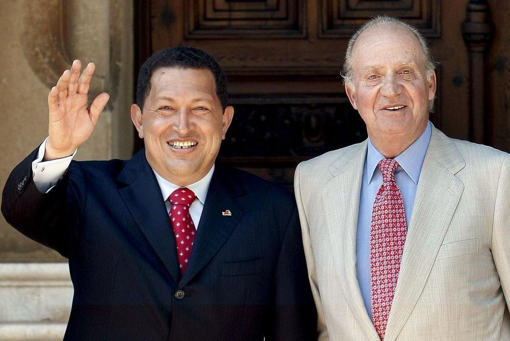 A pesar de las polémicas, la relación entre Chávez y el rey siempre fue distendida.