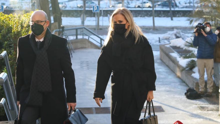 Cristina Cifuentes acude al juzgado por el 'caso Máster'