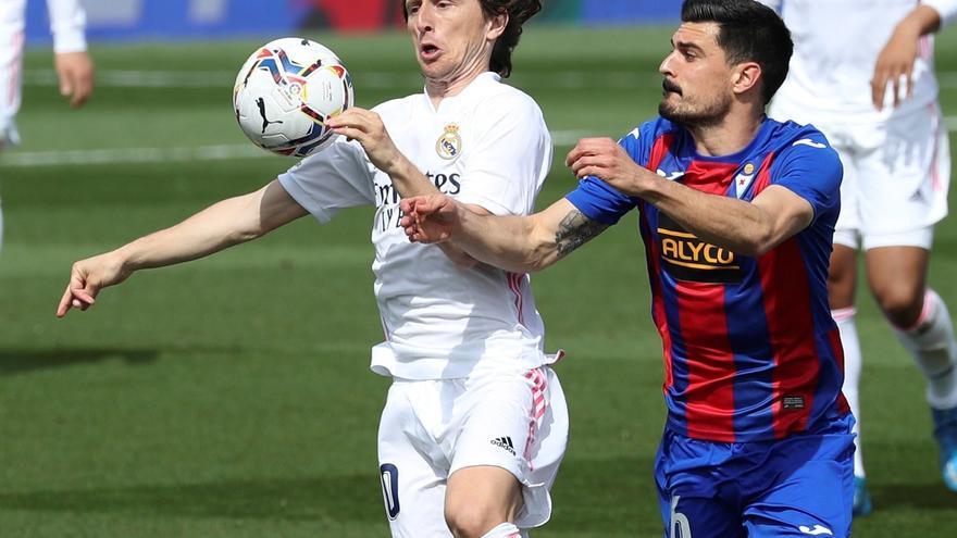 LaLiga Santander: Real Madrid - Eibar