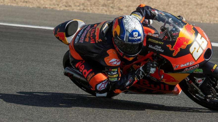 Segunda 'pole' consecutiva de Fernández en Moto3