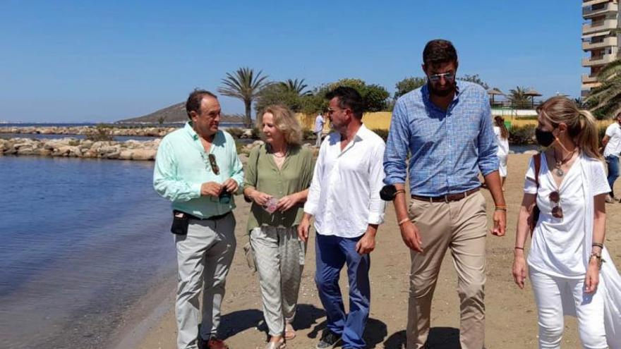 Vox critica a la ministra por no proponer ninguna inversión para el Mar Menor