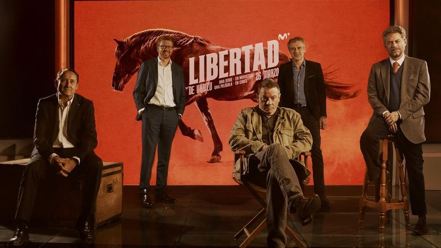 """Enrique Urbizu presenta 'Libertad': """"Queremos mostrar nuestro apoyo a las salas"""""""