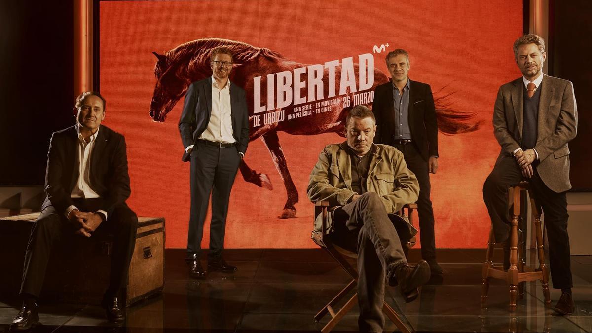 Presentación de 'Libertad'.