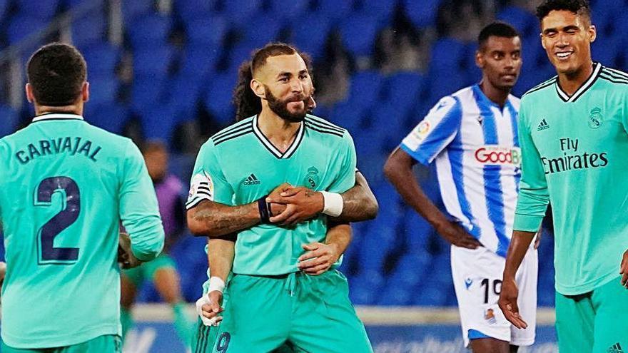 El Real Madrid asalta el liderato