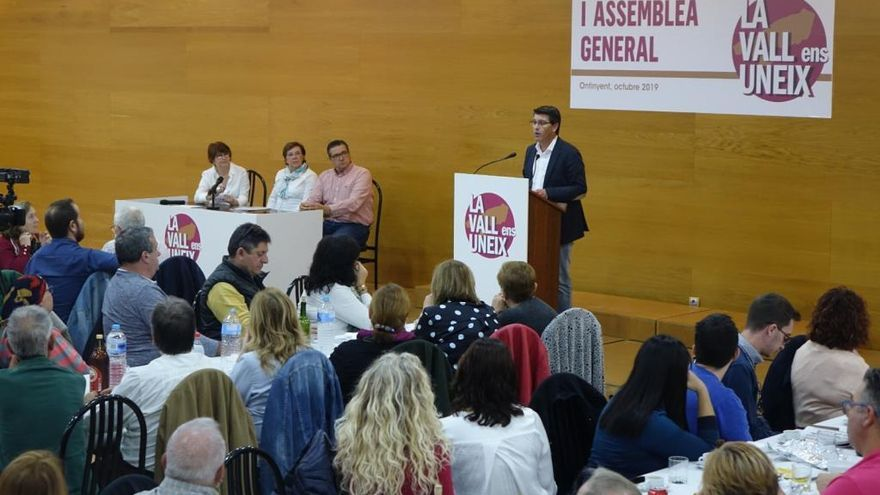 La Vall Ens Uneix elige a Jorge Rodríguez como secretario general en su primera asamblea
