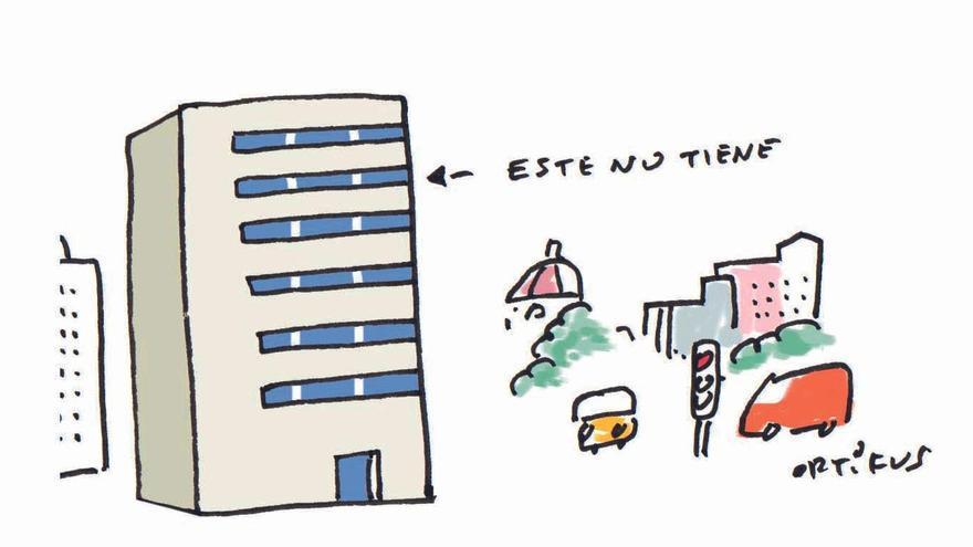 Uno de cada cinco pisos en València no tiene ascensor