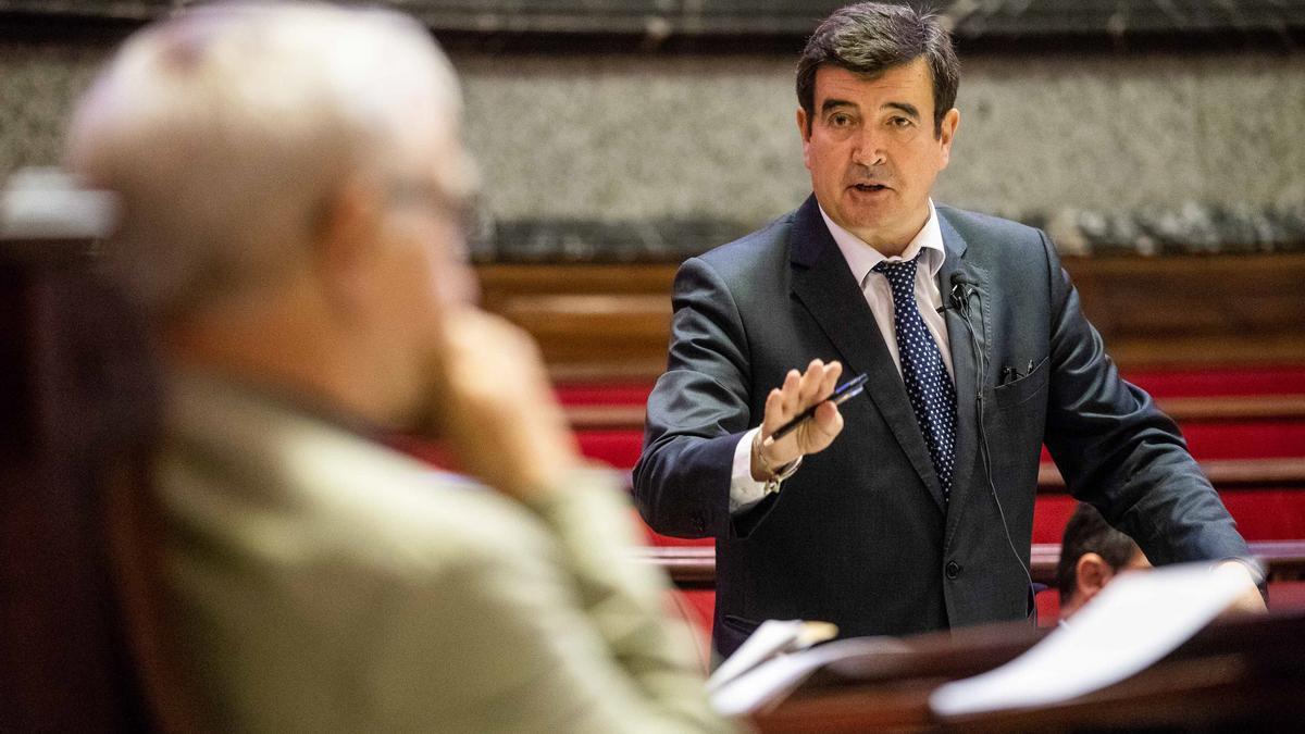 Imagen de archivo del portavoz de Ciudadanos en el Ajuntament de València, Fernando Giner