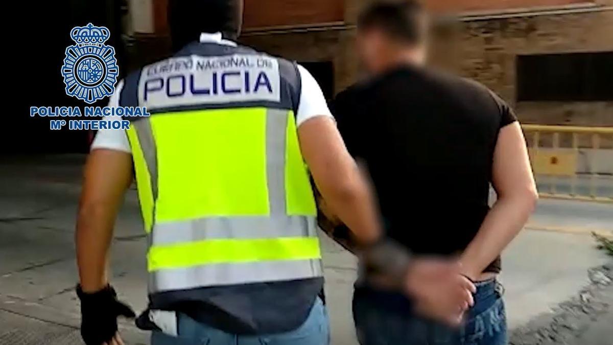 Detencion de un miembro de la Camorra napolitana en Benalmádena.