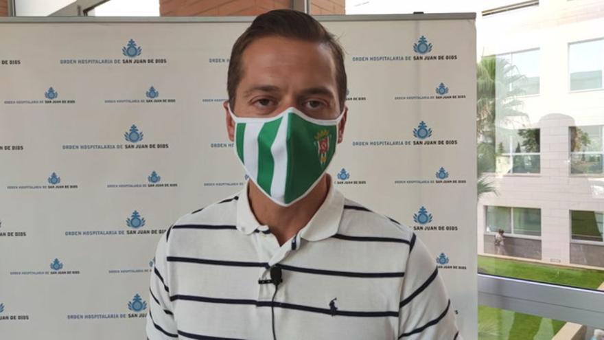 Víctor Salas explica el funcionamiento de los reconocimientos médicos en el Córdoba CF