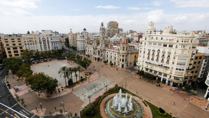 El Consell de Cultura cuestiona la reforma de la Plaza del Ayuntamiento