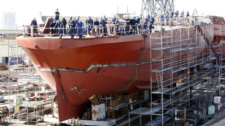 Unión Naval debe indemnizar con 21,5 millones a 300 extrabajadores por el amianto