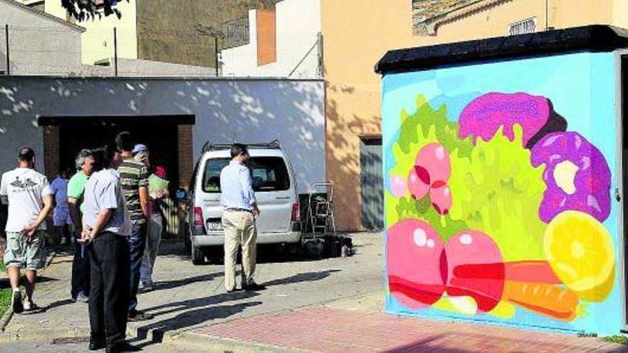 Los grafittis invaden el Museo al Aire Libre de Puçol