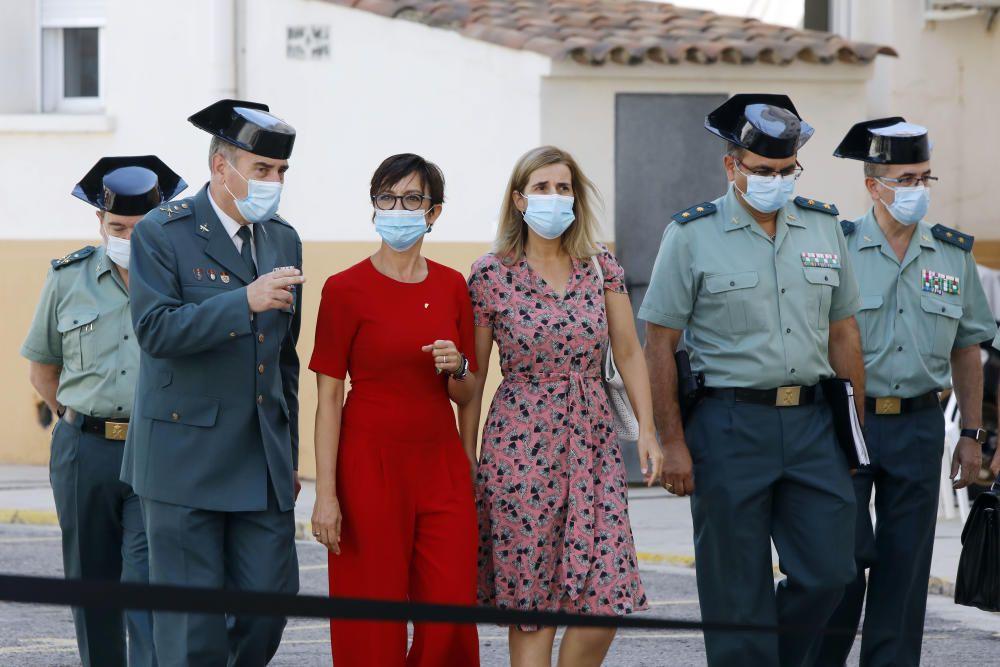 La directora general de la Guardia Civil, María Gámez, informa de la Operación Face MaskSK,