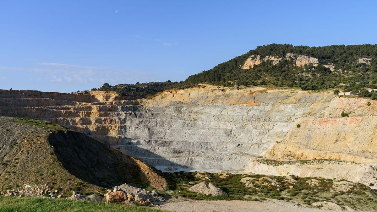 Imagen de la cantera de Can Negret, en Alaró, vinculada al proyecto de la planta de hidrógeno prevista en Lloseta.