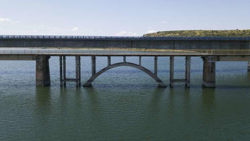 Las lluvias primaverales elevan los embalses de Zamora hasta el 85% de su capacidad