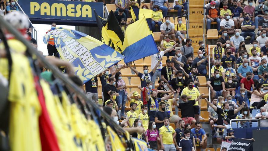 La Grada de Animación del Villarreal se estrena ante Osasuna con 3.000 aficionados