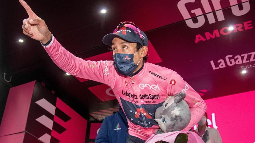 Ganador etapa 16 Giro de Italia 2021: Egan Bernal