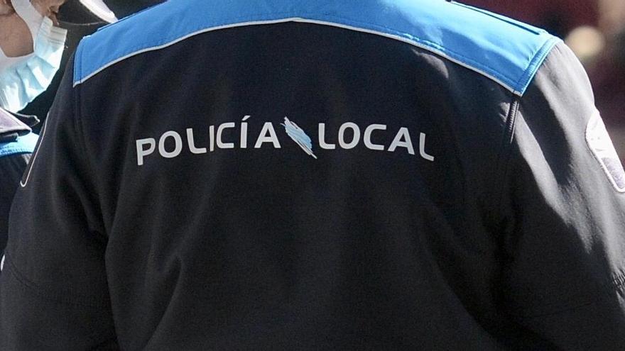 Policía local Pontevedra. Rafa Vázquez